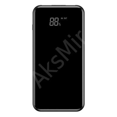 Внешний аккумулятор Baseus Full Screen Bracket Wireless 8000mAh (Black) PPALL-EX01