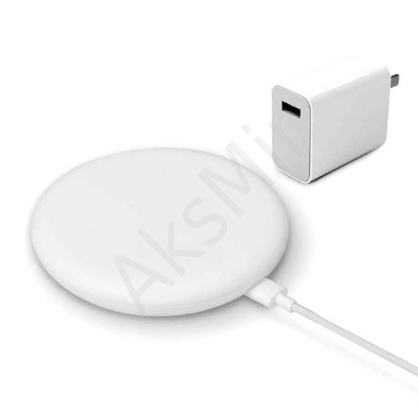 Xiaomi wireless charger 20W QuickCharge 3.0 + блок питания 27Вт